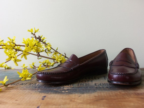 Reserved for Holly / Vintage Penny Loafers / by ...