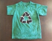 Recycle Kid in Green - Tshirt - Size 2T-3T