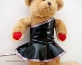 FLOOZY - Off the shoulder latex dress for YOUR teddy bear
