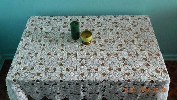 """Crochet Tablecloth - """"Little Star"""""""
