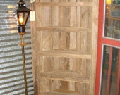 Reserved listing....reserved...Reclaimed Bookcase, Bookcase, Reclaimed, Rustic Bookcase, Reclaimed Shelf