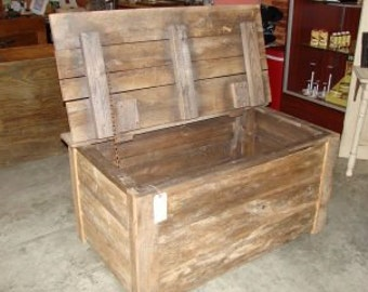 Rustic Trunk, Hope Chest, Coffee table