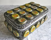 Mason Root Beer Bottle Cap Tin Box