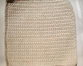 Off White Crochet Dish Rags