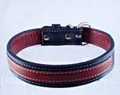 Dog Collar Classic Brown Medium SALE