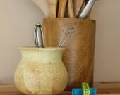 Medium Ceramic Kitchen/ Bath/ Office Container