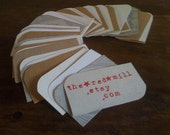 RESERVED 200 Blank Business Cards/ Wedding/ Photo Album/ Tags