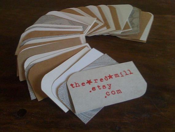 200 Blank Business Cards/ Wedding/ Photo Album/ Tags