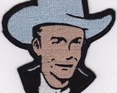 Hank Williams Embroidery Applique Patch