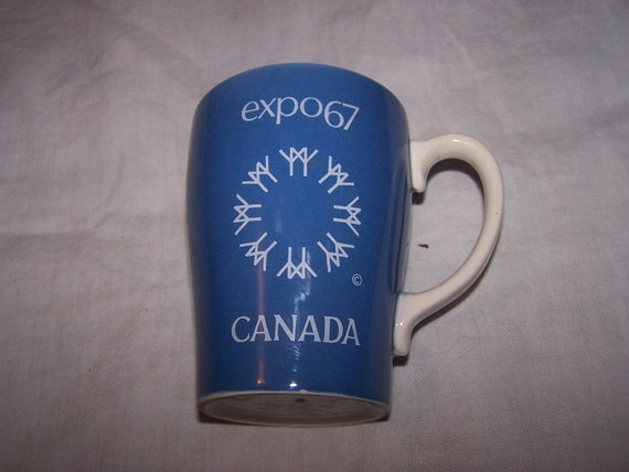 sale Vintage EXPO 1967 CANADA Souvenir mug by Sadler England for the 1967 world exposition