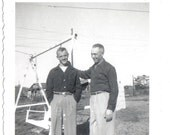 Vintage Photo Father and Son