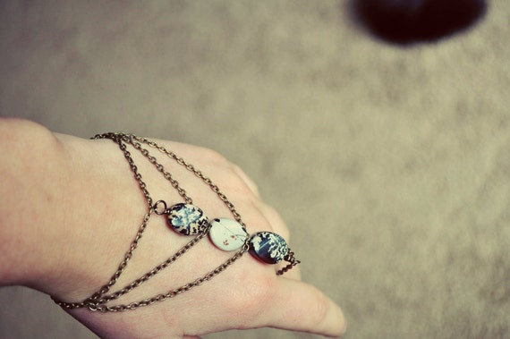 Gypsy Inspired Jasper Slave Bracelet