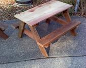 Kids Picnic Table -- Classic Design