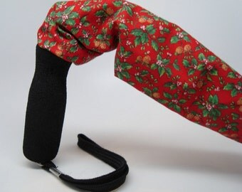 Cane Cover Christmas Holly Pattern