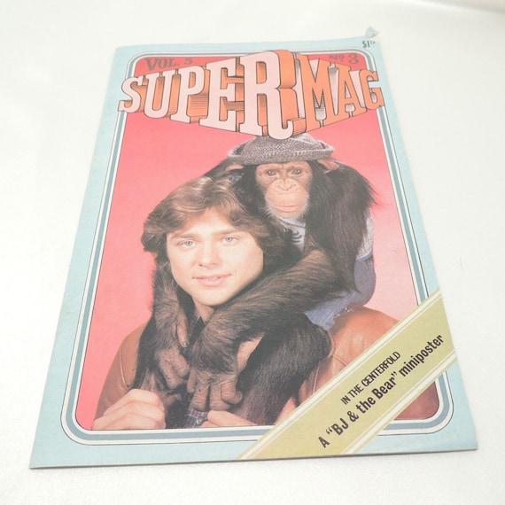 Vintage BJ & the Bear Super Mag Vol. 5 No. 3 Tween Magazine