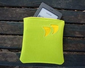 Quotation mark zipper pouch