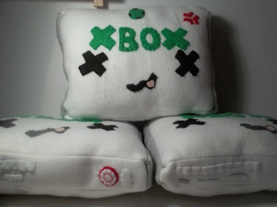Red Ring of Death X-Box Plush