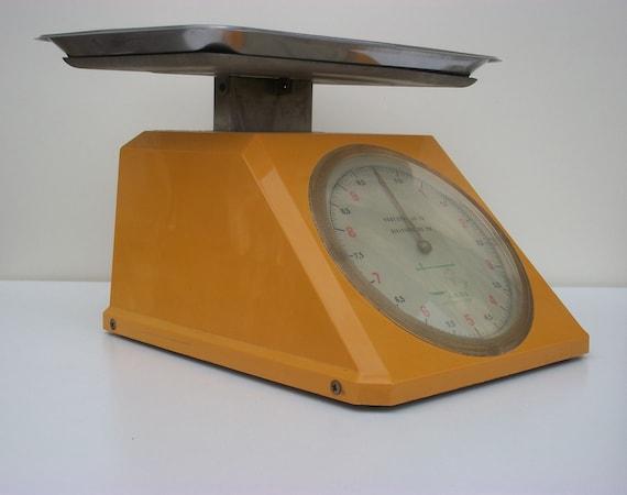 Vintage balance Weighing machine Roman balance Home decor Kitchen decor Kitchen Scale Italian Ladi automatica kitchen scale