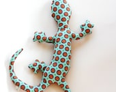 Stuffed Animal with Aromatherapy, LIZARD: Handmade Scented Toy Peaceful and Calming