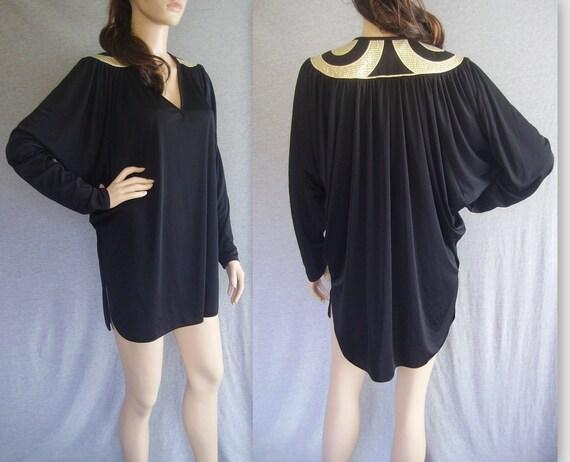 80s Dress 70s Dress Disco Dress / 80s Glam Dress / 80s Mini Dress / Vintage Dress / Vintage Mini Dress / 80s Mini Dress / Vintage Glam Dress