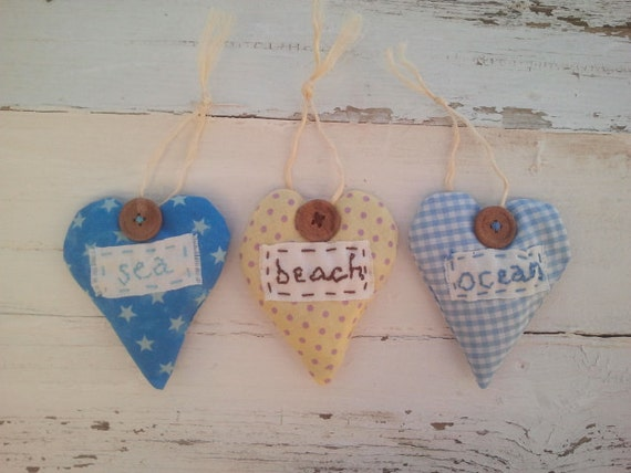 Beach hearts filled with Andalucian wild herbs