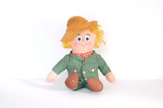 Vintage Mr. Green Jeans Doll