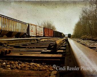 Railroad Tracks, Photography, Fine Art Photography, Landscape Photography, Nature Photography