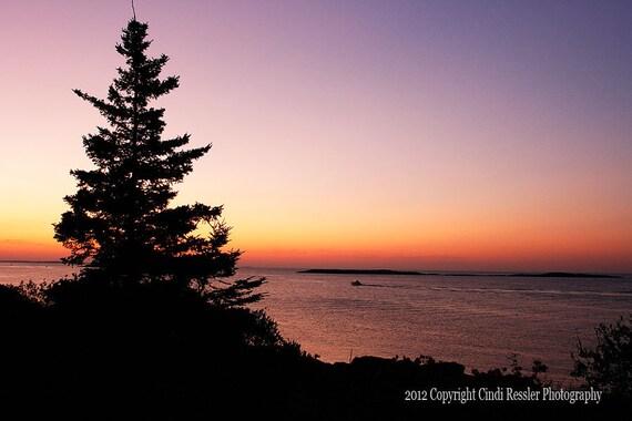Sunrise on the Atlantic, Fine Art Photography, Maine Photography, Landscape Photography