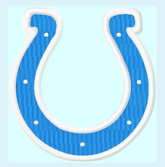 Horse Shoe APPLIQUE and Fill Embroidery Designs   INSTANT DOWNLOAD