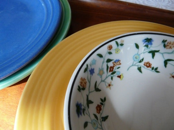 SALE, Restaurant ware, floral, small bowls, set of twelve