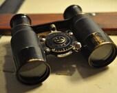 1920's American Made Brass Biascope 6X Binoculars