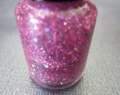 She Likes to Party- Pink, Purple and Blue Glitter Mini Nail Polish