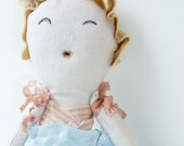 Cloth Doll, FREE SHIPPING, Shabby Chic