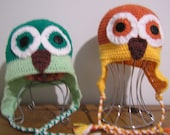 Owl Hat - Special Order for Tracy