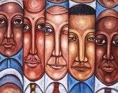 Oliver Francis' Original Diversity Painting
