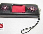USB Drive & YouTube Bundle - Sandisk Cruzer (8 gb) w/Flowers - Swarovski Crystals w/Custom YouTube Video for Advertising