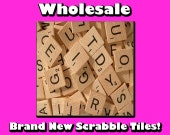 200 Scrabble Tiles - New - Never Used - Make Scrabble Tile Pendants and Jewelry