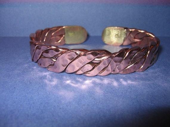 Copper bracelet-mens