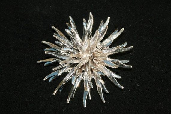 Unusual Vintage Sculptural Atomic Pin-3 Dimensional