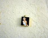 Marilyn Monroe Scrabble Tile Pendant