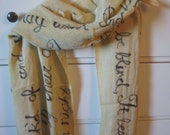 Shakespeare Quote Scarf