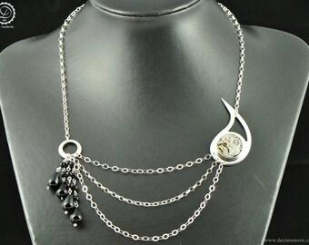 Mechanical Paisley Necklace - Machinarium Collection