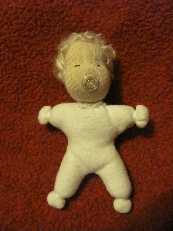 Additional Baby for Baby-Wearing Mama Waldorf Doll