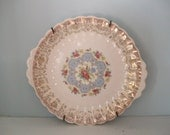 Vintage Decorative Plate with wire hanger
