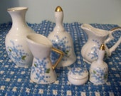 Miniature Hand Painted China Collection