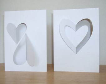 These are hand-cut cards so they will vary slightly.