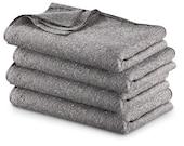 Grey Army Style Vintage Wool Blanket