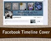 Fancy Pre-made Facebook Timeline Banner Cover