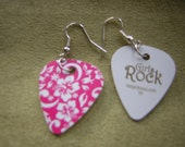 Guitar Pick Earrings by CJW