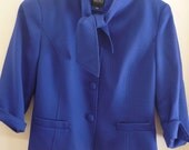 Bigio Collection 2 Piece Suit Jacket and Skirt